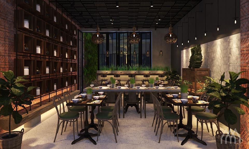 thiết kế Nhà Hàng Dong Phu 1932- Vietnam Cuisine Restaurant12
