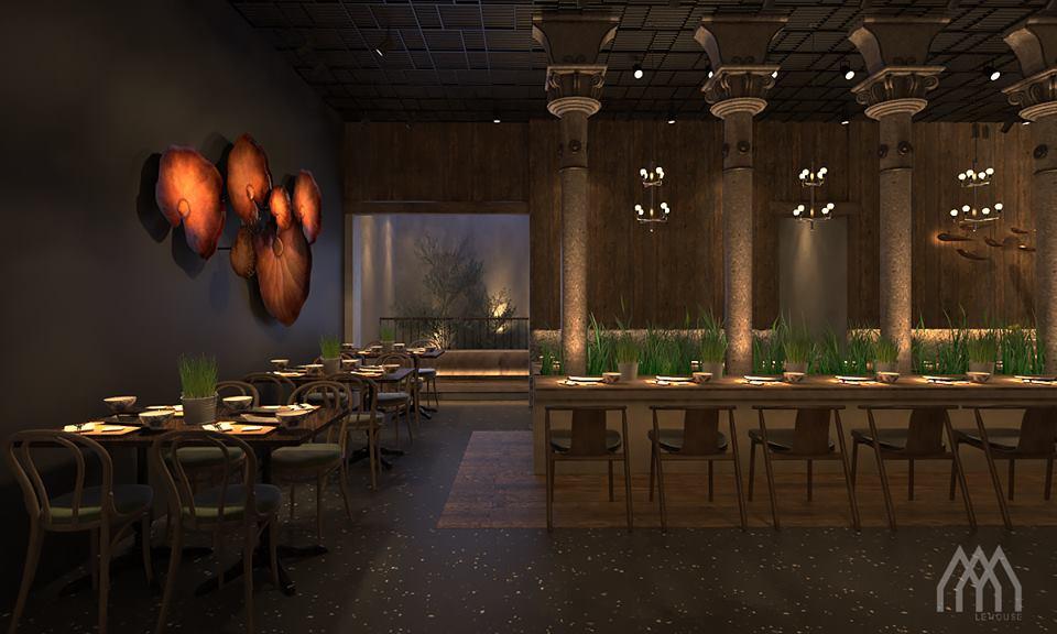 thiết kế Nhà Hàng Dong Phu 1932- Vietnam Cuisine Restaurant39