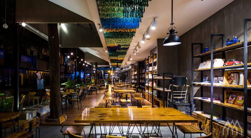 thiết kế nội thất Cafe tại Hồ Chí Minh Phương Nam Bookcafe 1 1533097736