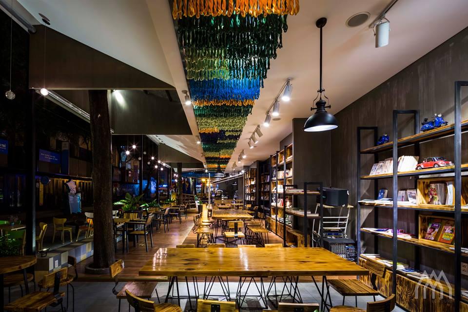 thiết kế nội thất Cafe tại Hồ Chí Minh Phương Nam Bookcafe 3 1533097742