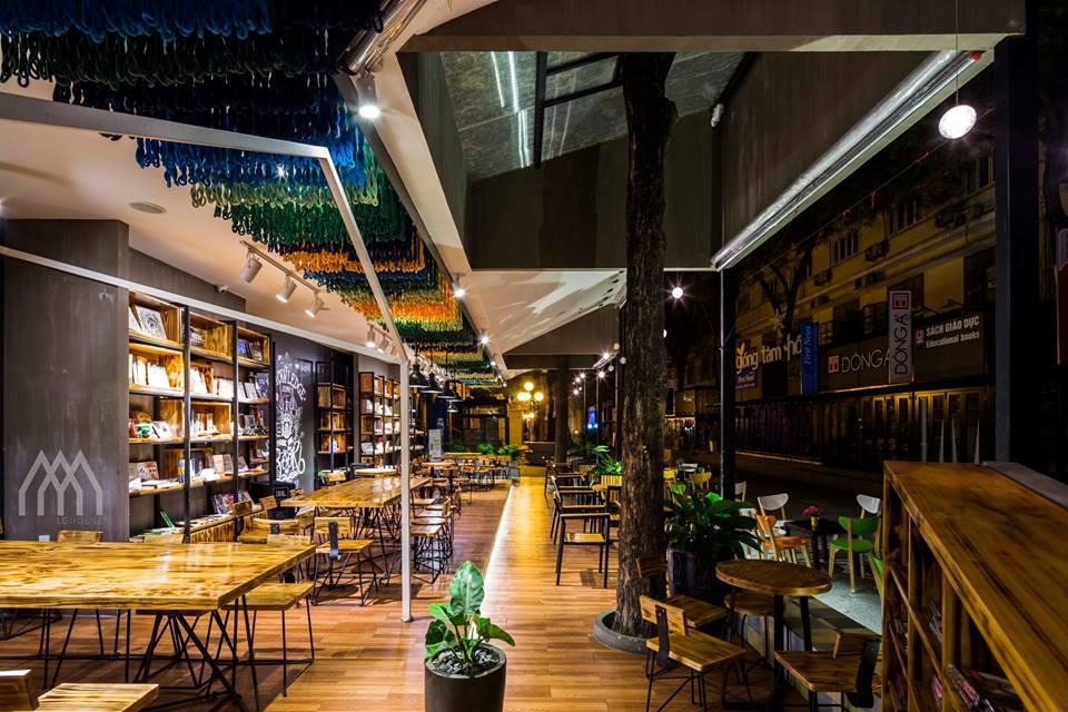 thiết kế nội thất Cafe tại Hồ Chí Minh Phương Nam Bookcafe 6 1533097737