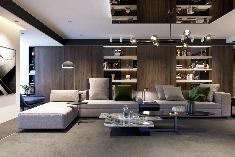 thiết kế nội thất chung cư tại Hà Nội VINCOM NGUYEN CHI THANH - APARTMENT 0 1533622264
