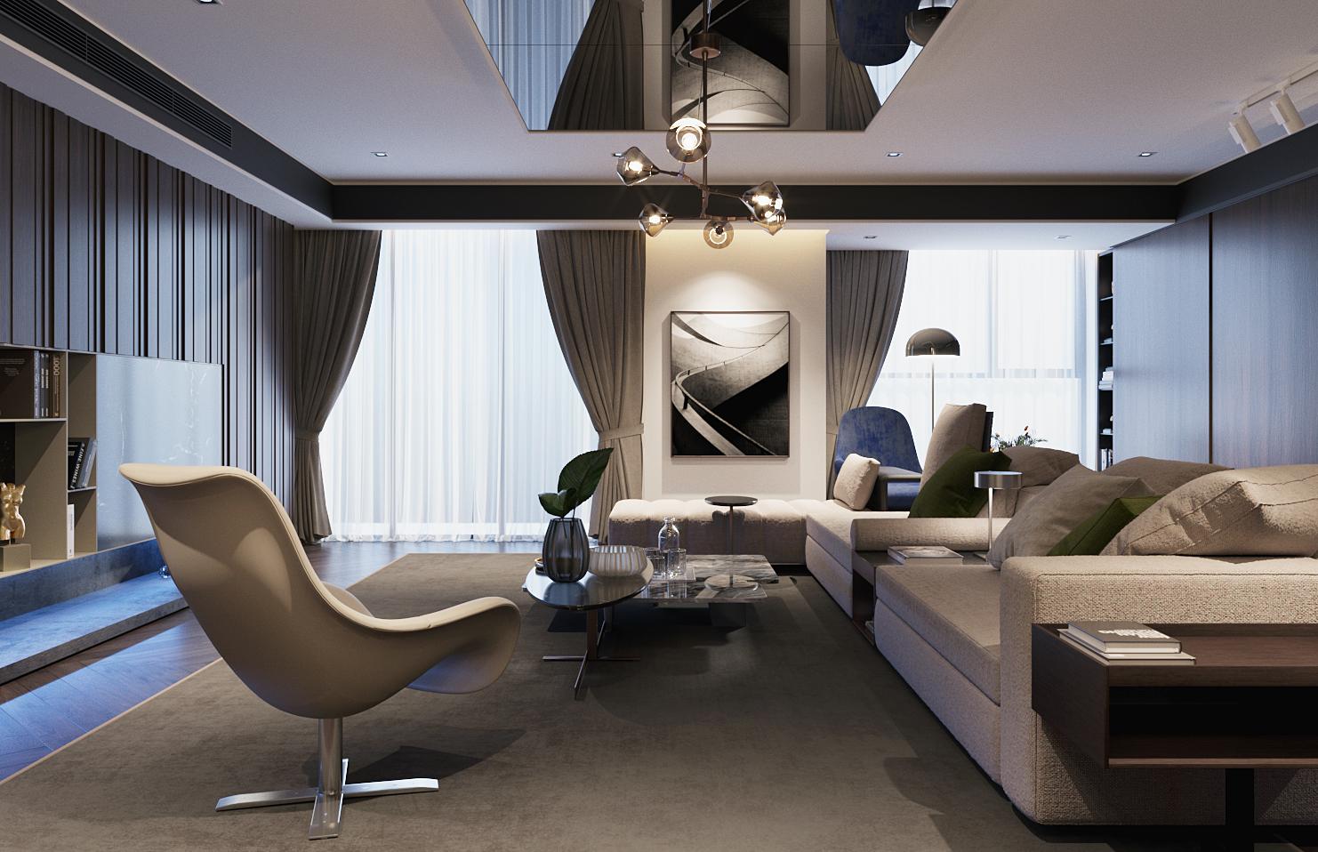 thiết kế nội thất chung cư tại Hà Nội VINCOM NGUYEN CHI THANH - APARTMENT 10 1533622268