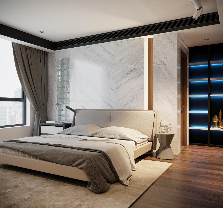 thiết kế nội thất chung cư tại Hà Nội VINCOM NGUYEN CHI THANH - APARTMENT 12 1533622271