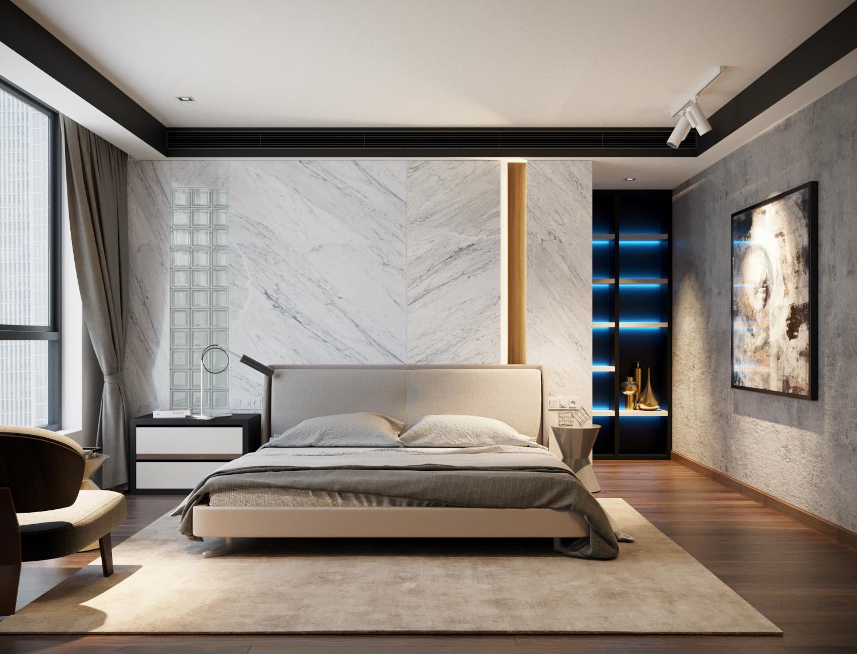 thiết kế nội thất chung cư tại Hà Nội VINCOM NGUYEN CHI THANH - APARTMENT 14 1533622269