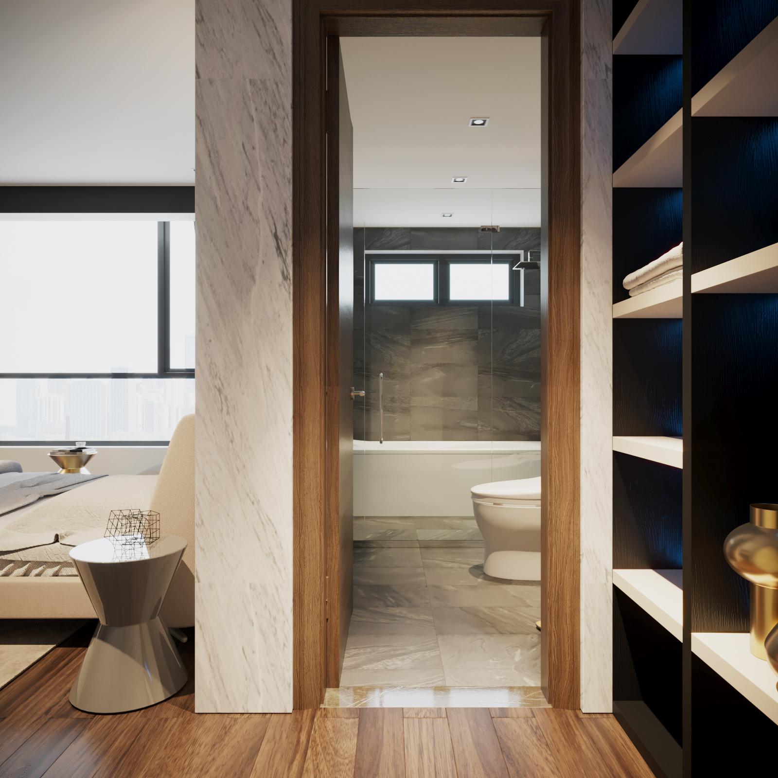 thiết kế nội thất chung cư tại Hà Nội VINCOM NGUYEN CHI THANH - APARTMENT 16 1533622270