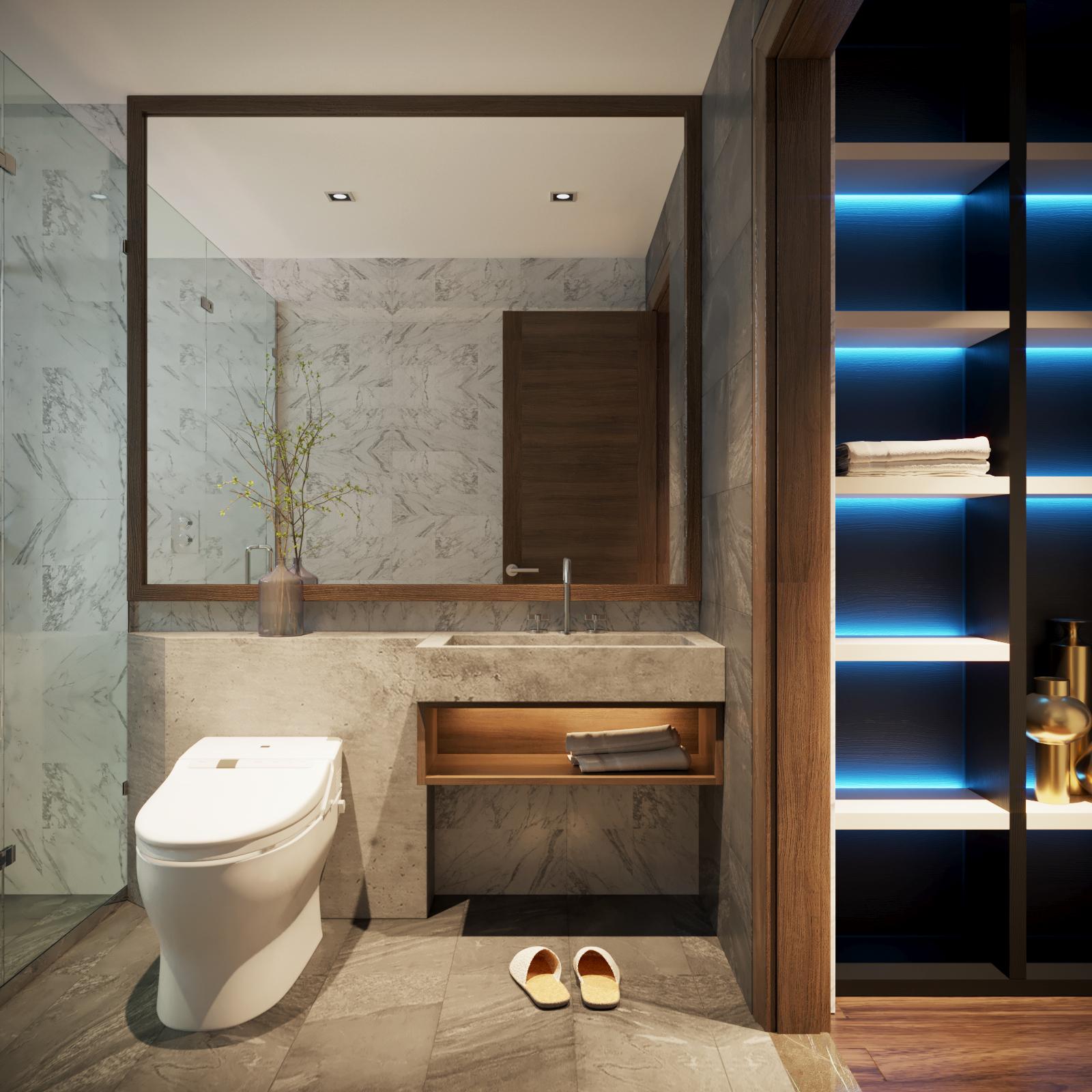 thiết kế nội thất chung cư tại Hà Nội VINCOM NGUYEN CHI THANH - APARTMENT 17 1533622273