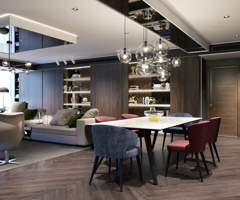 thiết kế nội thất chung cư tại Hà Nội VINCOM NGUYEN CHI THANH - APARTMENT 2 1533622268