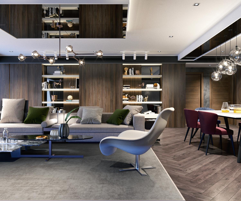 thiết kế nội thất chung cư tại Hà Nội VINCOM NGUYEN CHI THANH - APARTMENT 3 1533622264