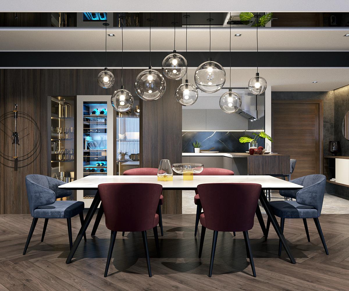 thiết kế nội thất chung cư tại Hà Nội VINCOM NGUYEN CHI THANH - APARTMENT 5 1533622267