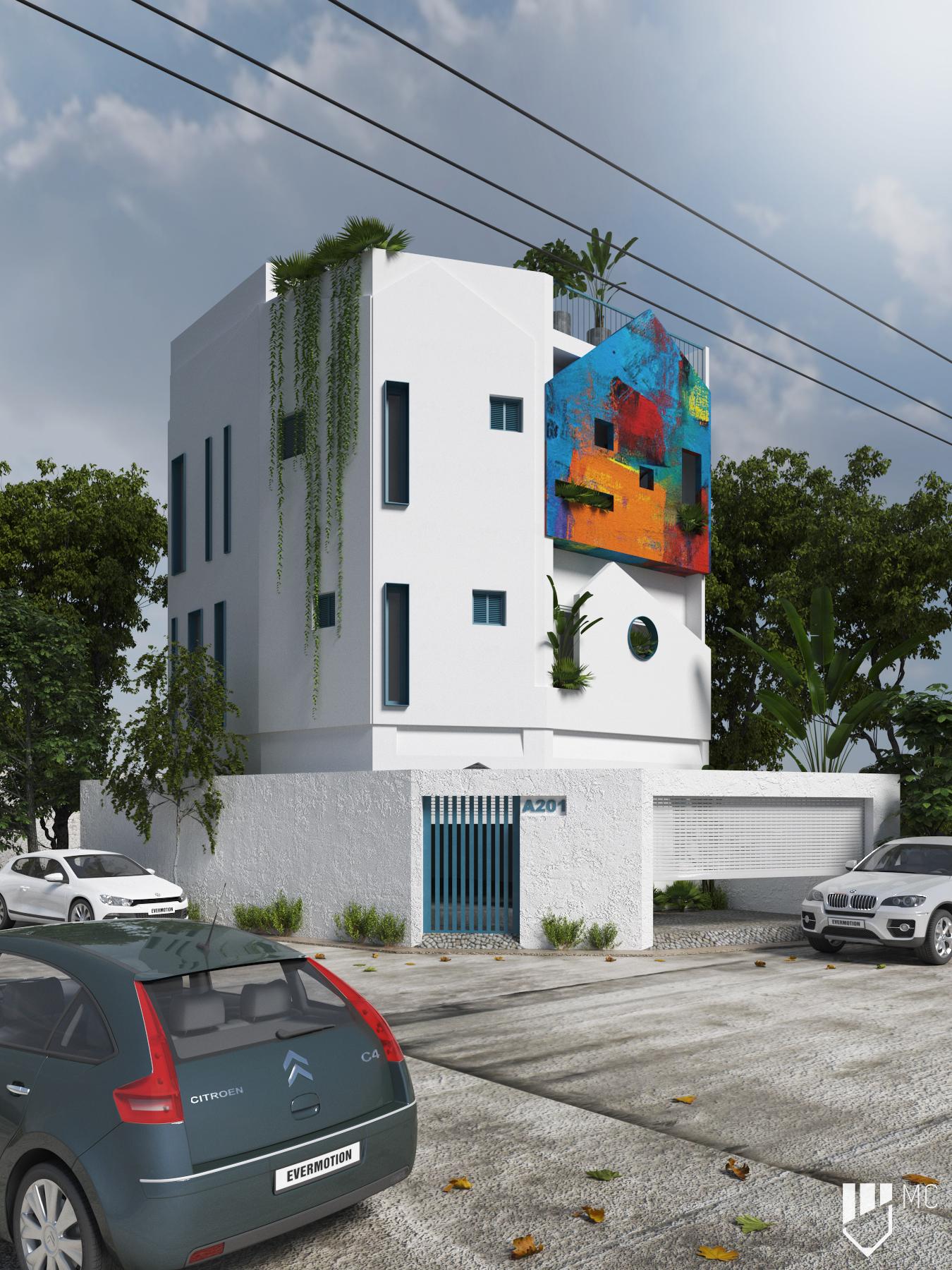 Thiết kế Nhà Mặt Phố tại Hồ Chí Minh T.H.S HOUSE 1588586224 0