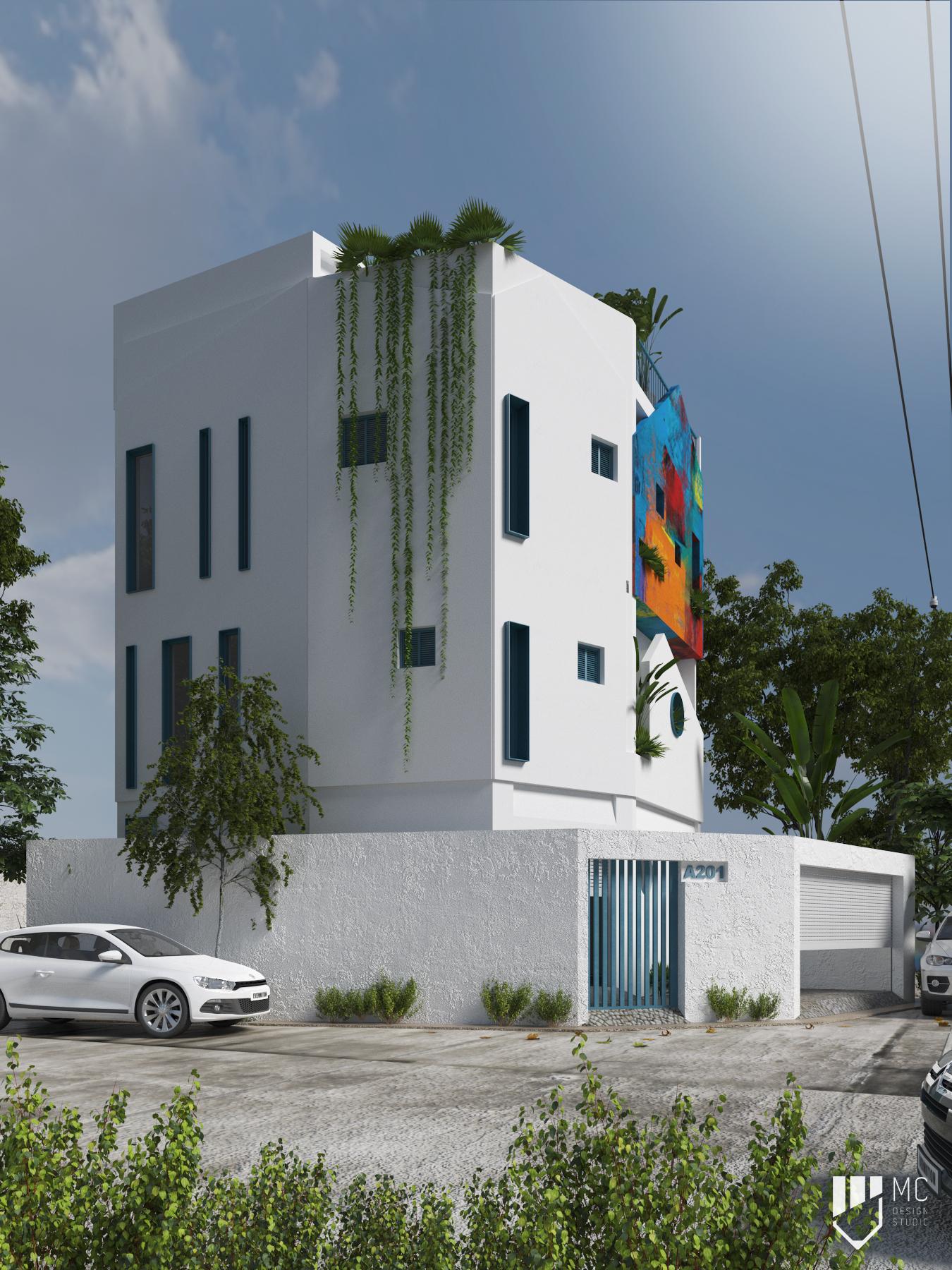 Thiết kế Nhà Mặt Phố tại Hồ Chí Minh T.H.S HOUSE 1588586224 2