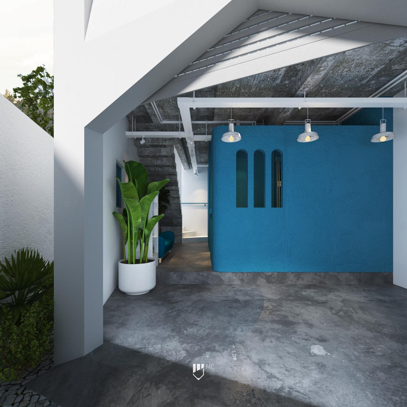 Thiết kế Nhà Mặt Phố tại Hồ Chí Minh T.H.S HOUSE 1588586224 3