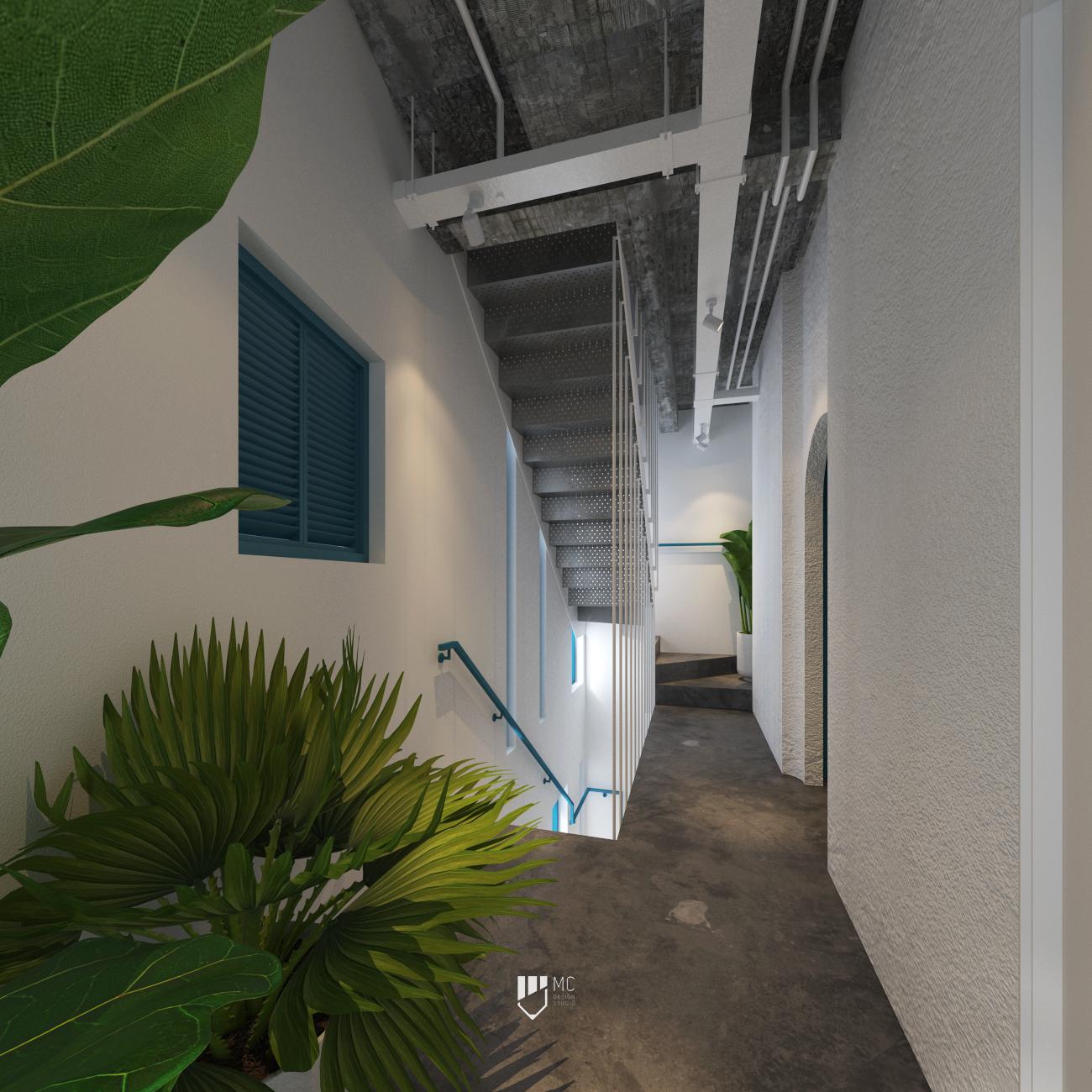 Thiết kế Nhà Mặt Phố tại Hồ Chí Minh T.H.S HOUSE 1588586225 9