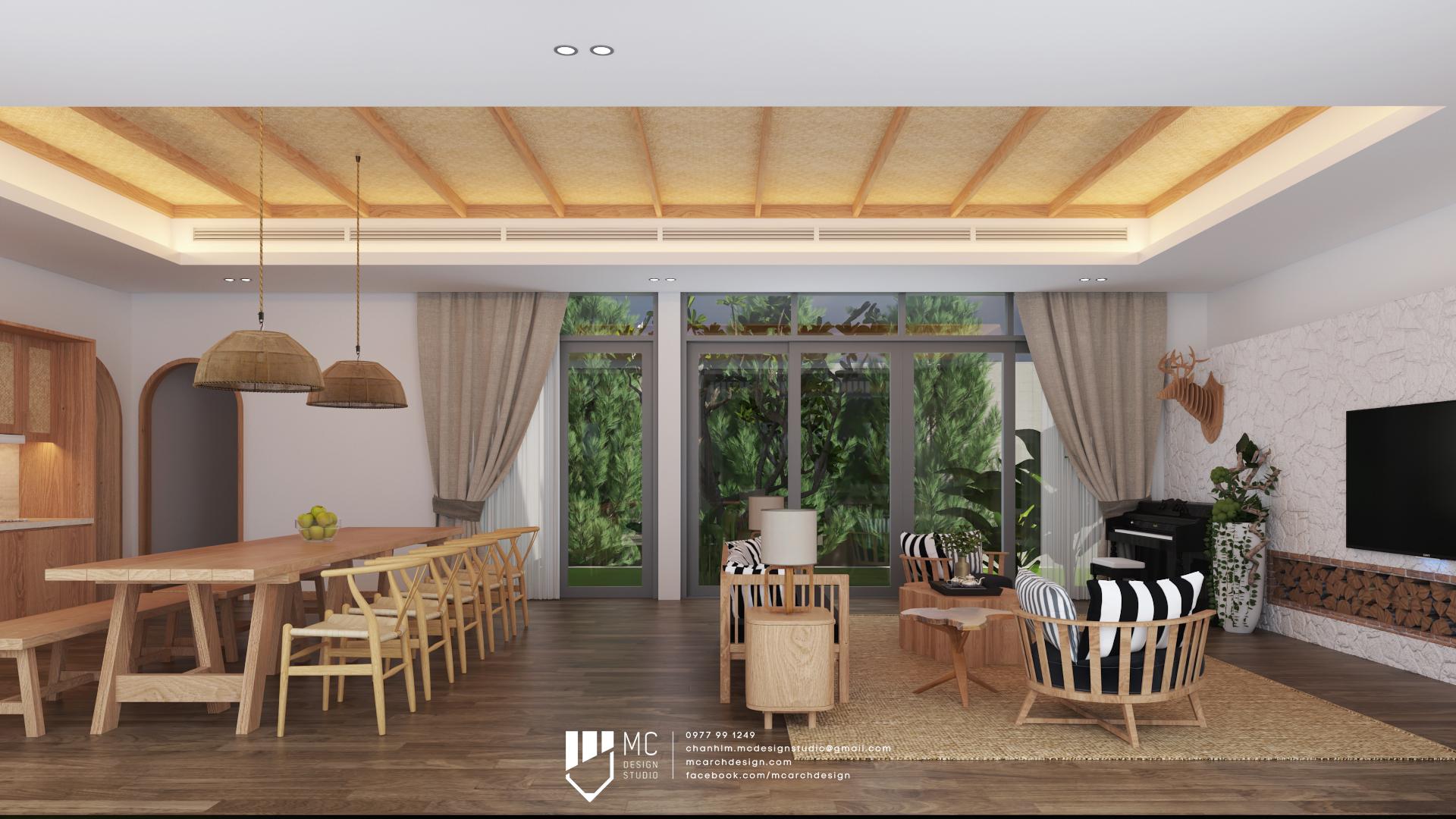 Thiết kế nội thất Biệt Thự tại Đắk Lắk BM House 1590741706 2