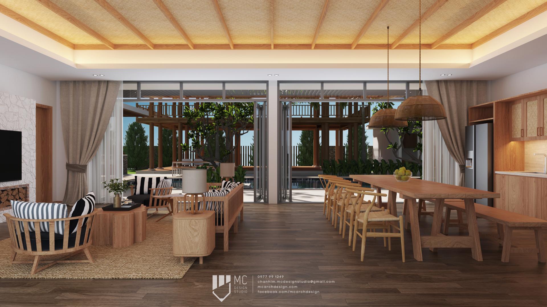 Thiết kế nội thất Biệt Thự tại Đắk Lắk BM House 1590741706 3