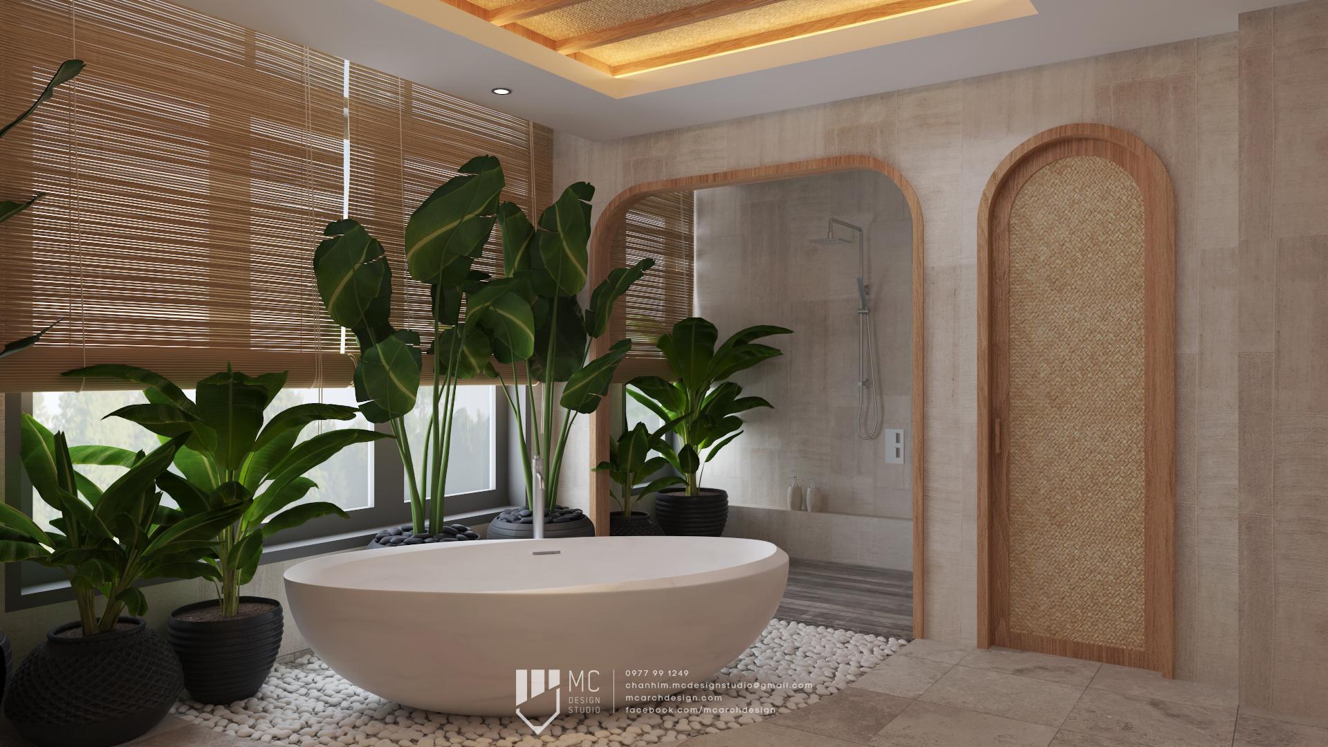 Thiết kế nội thất Biệt Thự tại Đắk Lắk BM House 1590741706 9