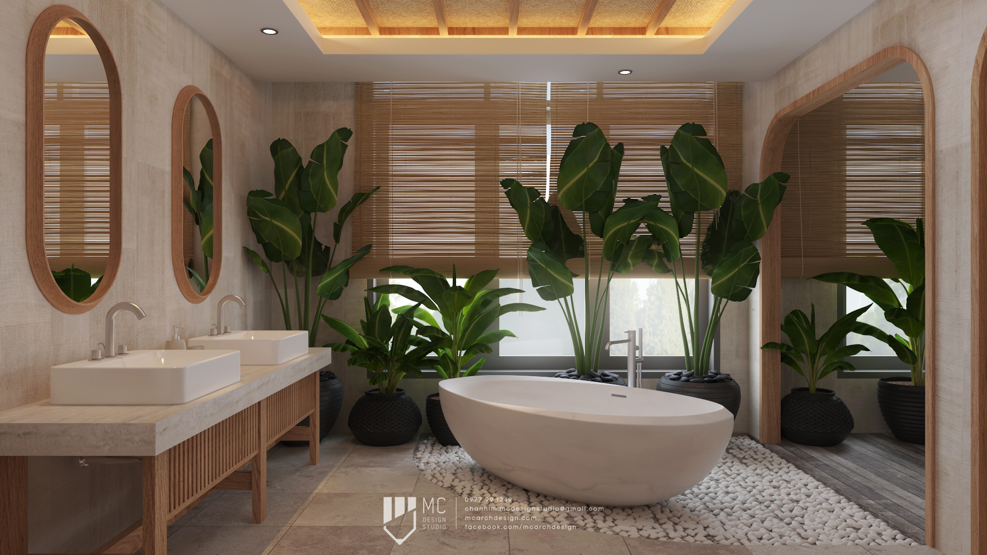Thiết kế nội thất Biệt Thự tại Đắk Lắk BM House 1590741707 10