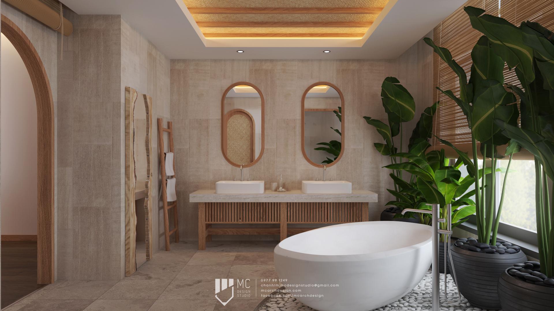 Thiết kế nội thất Biệt Thự tại Đắk Lắk BM House 1590741707 8