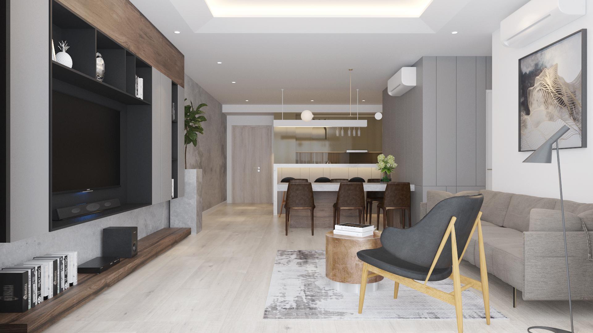 Thiết kế nội thất Chung Cư tại Hồ Chí Minh Estella Height 3107 1590740022 1