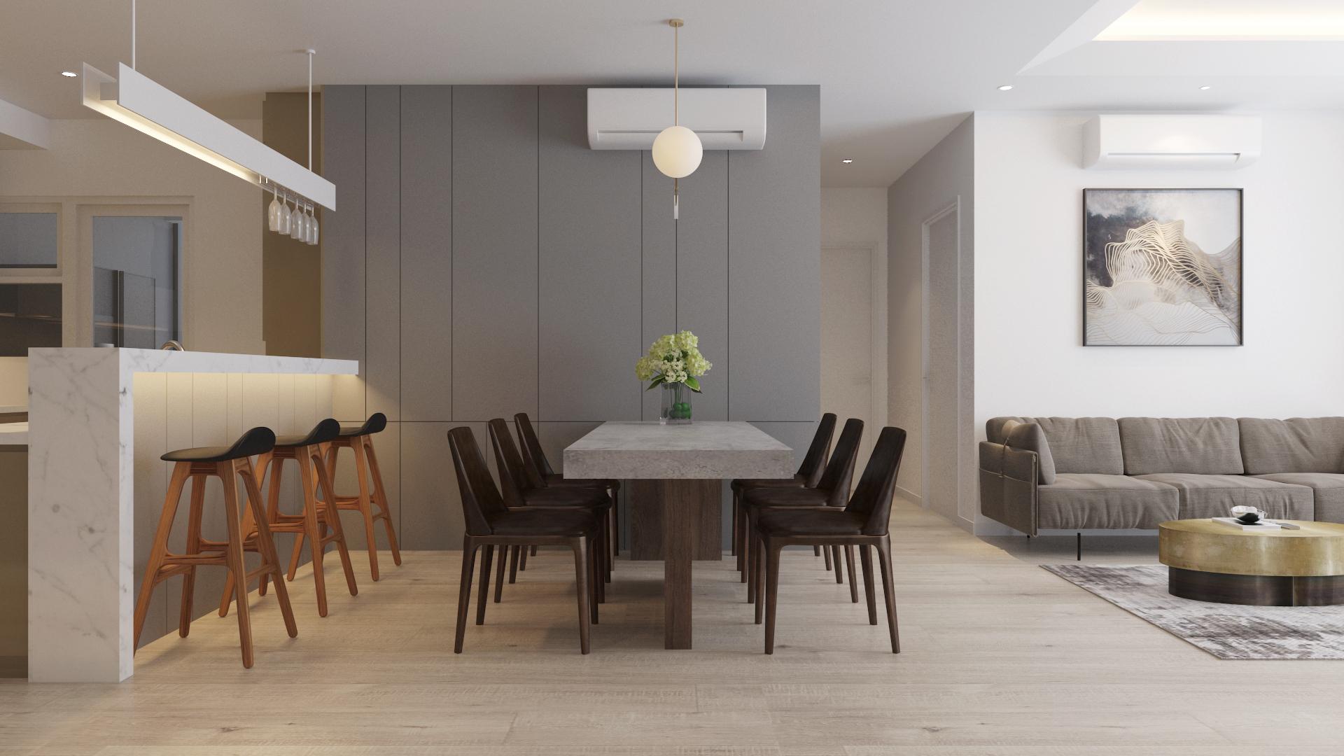 Thiết kế nội thất Chung Cư tại Hồ Chí Minh Estella Height 3107 1590740023 2
