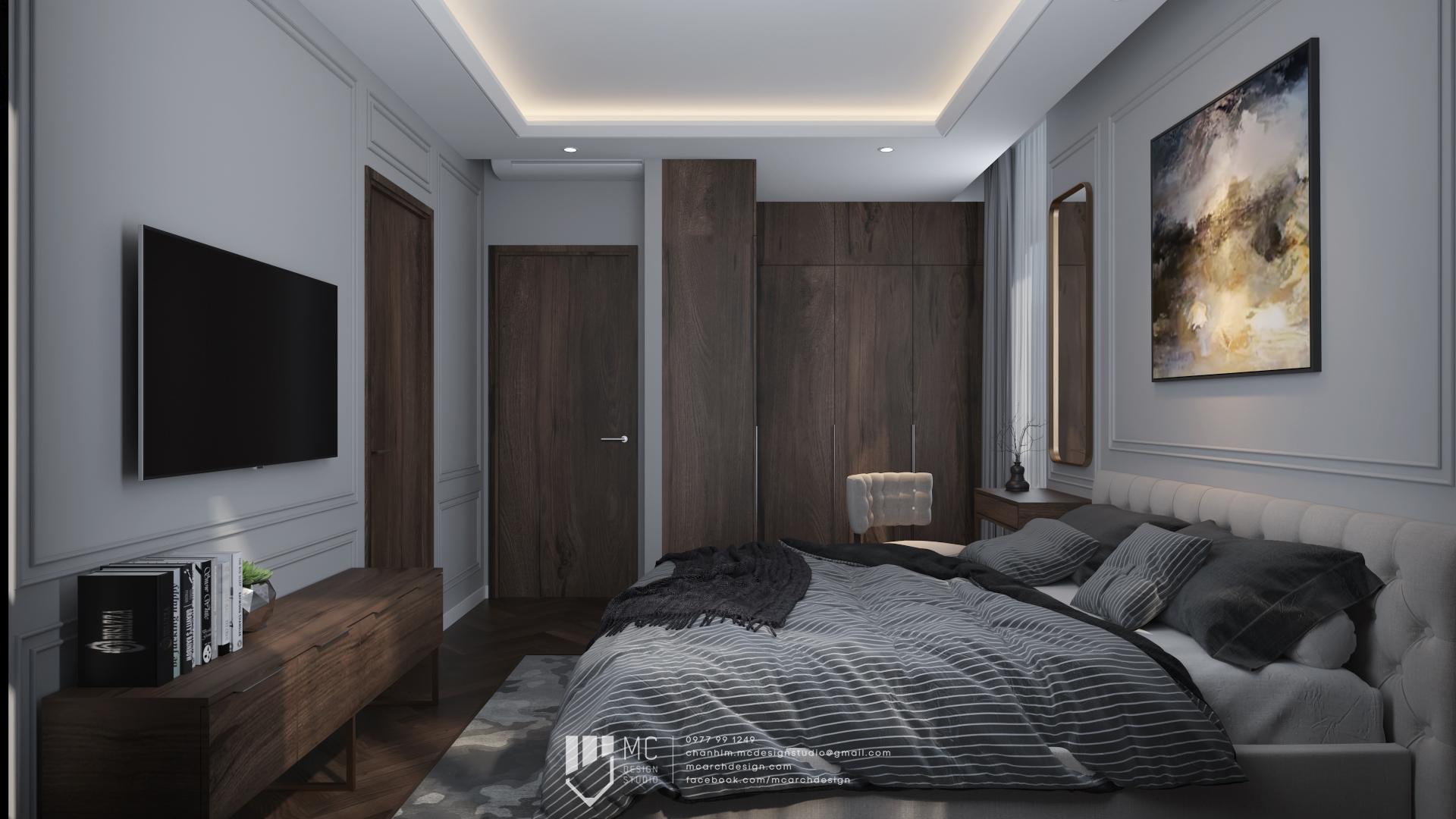 Thiết kế nội thất Chung Cư tại Hồ Chí Minh RIVIERA POINT - 3BS2 1588587963 4
