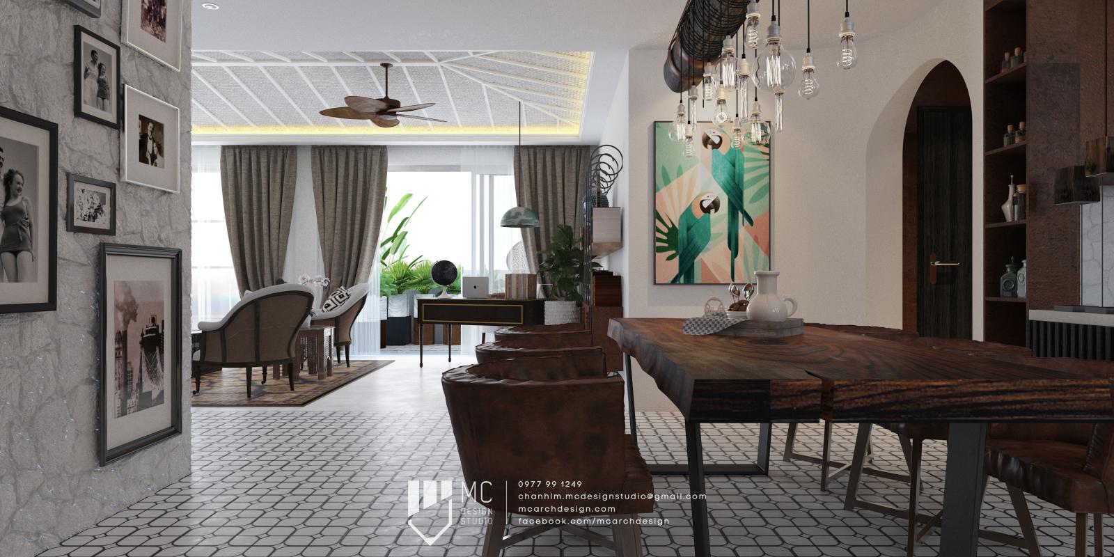 Thiết kế nội thất Chung Cư tại Hồ Chí Minh RIVIERA POINT - 4BS1 1588587333 3