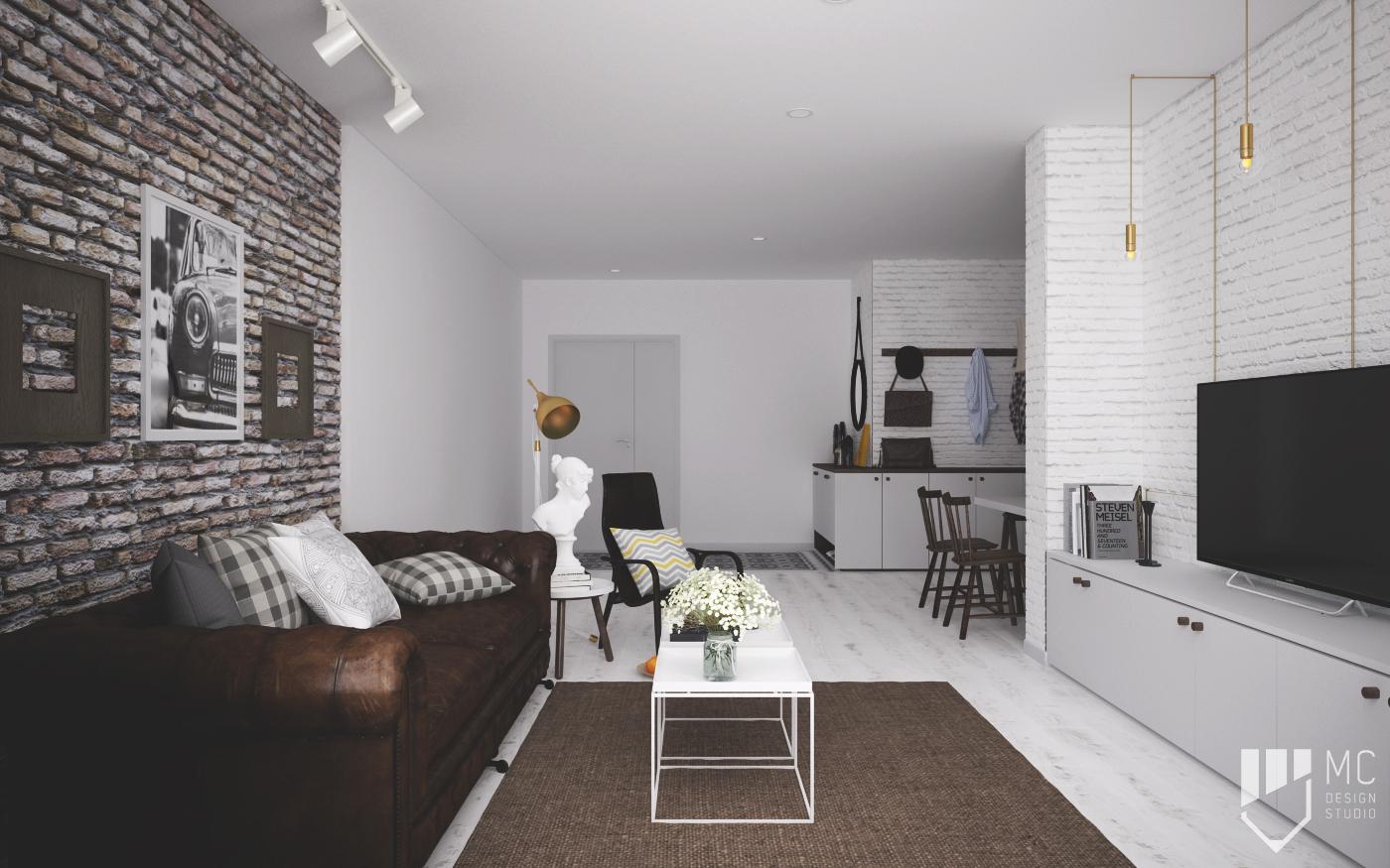 Thiết kế nội thất Chung Cư tại Hồ Chí Minh Sunrise City Apartment 1588400532 1