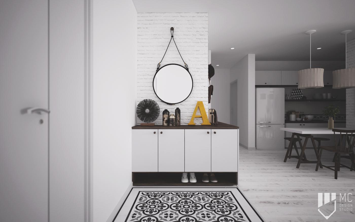 Thiết kế nội thất Chung Cư tại Hồ Chí Minh Sunrise City Apartment 1588400532 5