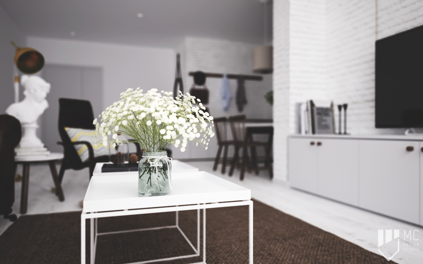 Thiết kế nội thất Chung Cư tại Hồ Chí Minh Sunrise City Apartment 1588400532 6