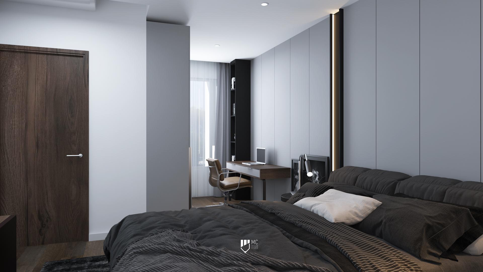 Thiết kế nội thất Chung Cư tại Hồ Chí Minh THE VIEW - DUPLEX 1588586561 9