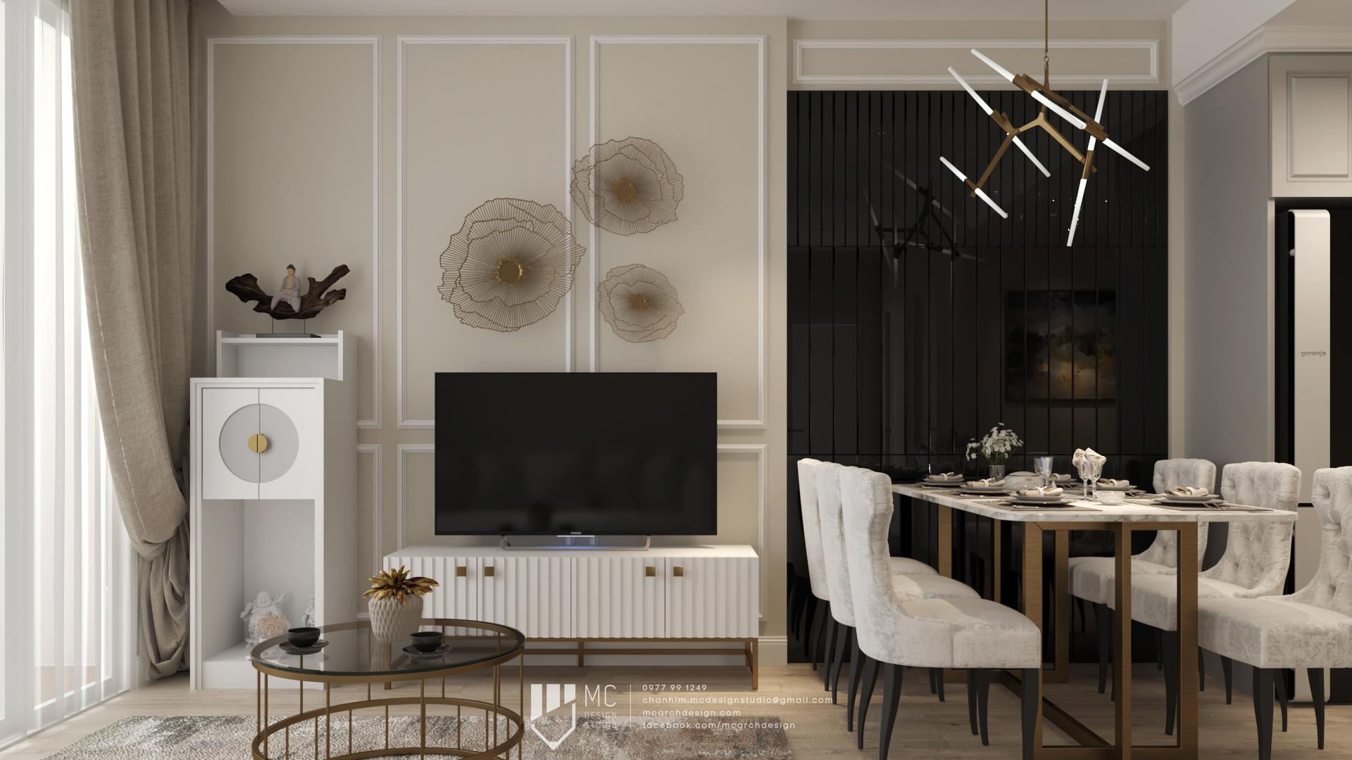 Thiết kế nội thất Chung Cư tại Hồ Chí Minh Vinhome Grand Park Apartment 1590742007 2