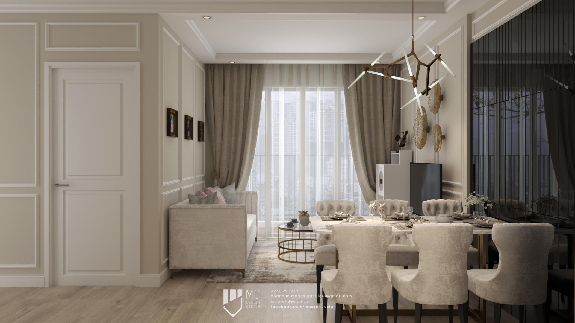 Thiết kế nội thất Chung Cư tại Hồ Chí Minh Vinhome Grand Park Apartment 1590742007 3