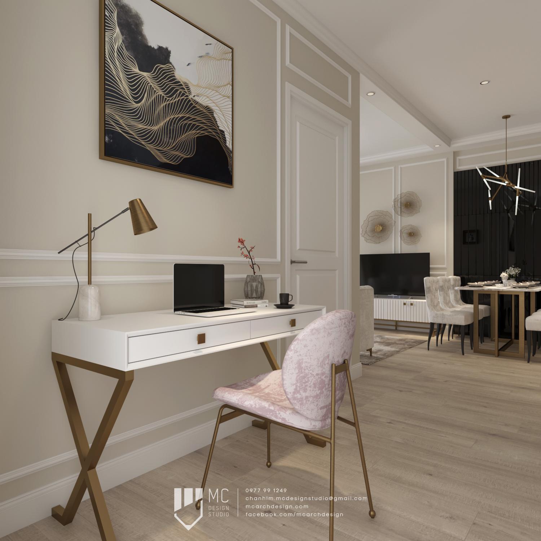 Thiết kế nội thất Chung Cư tại Hồ Chí Minh Vinhome Grand Park Apartment 1590742007 5