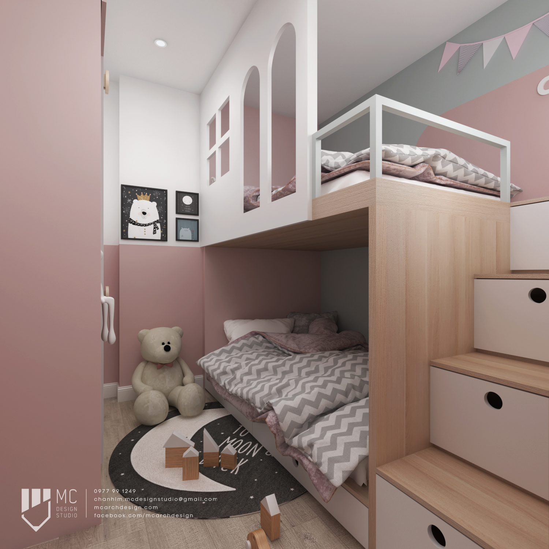 Thiết kế nội thất Chung Cư tại Hồ Chí Minh Vinhome Grand Park Apartment 1590742008 9