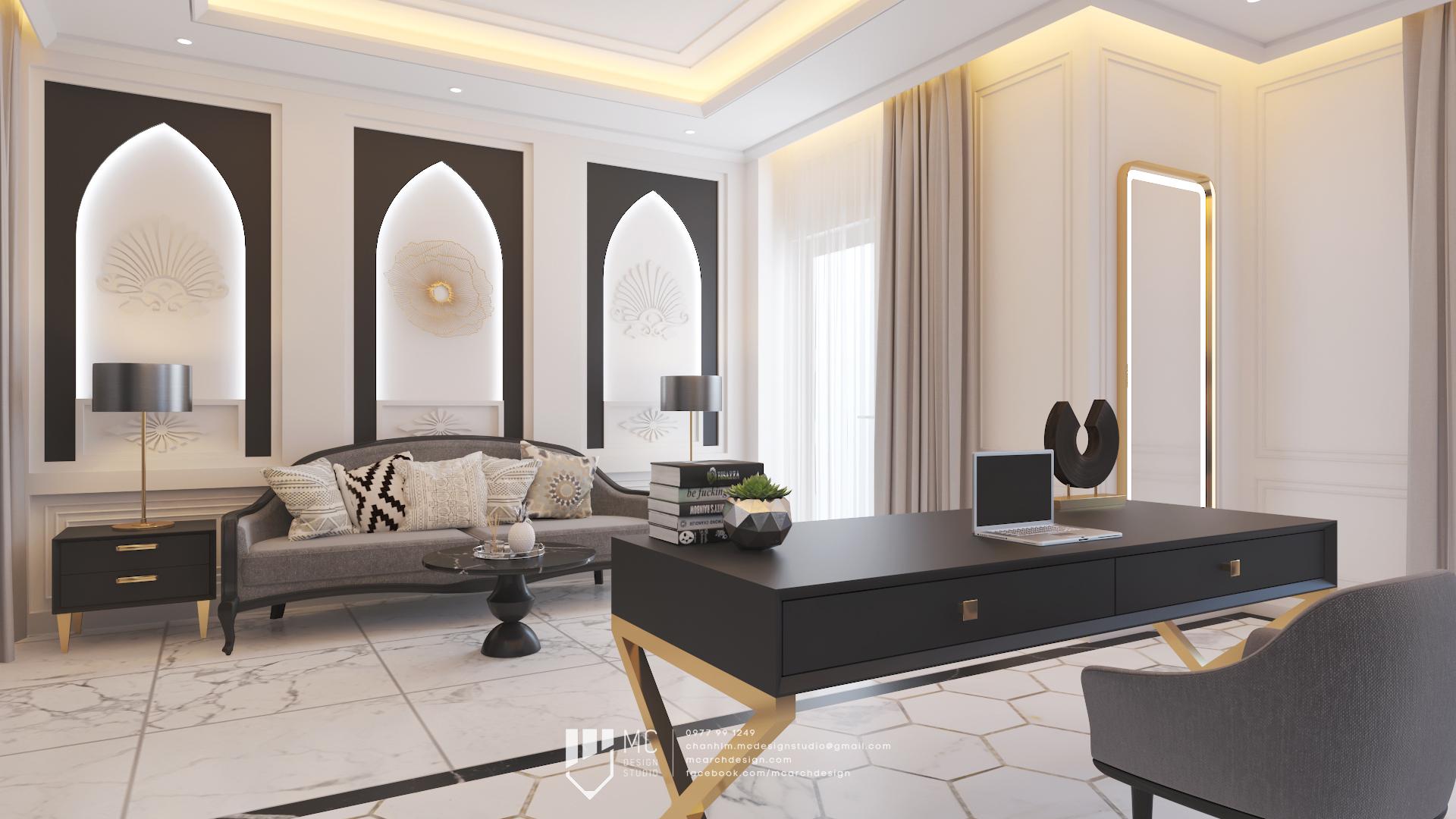 Thiết kế nội thất Nhà Mặt Phố tại Hồ Chí Minh Rosita Q9 1590741785 8