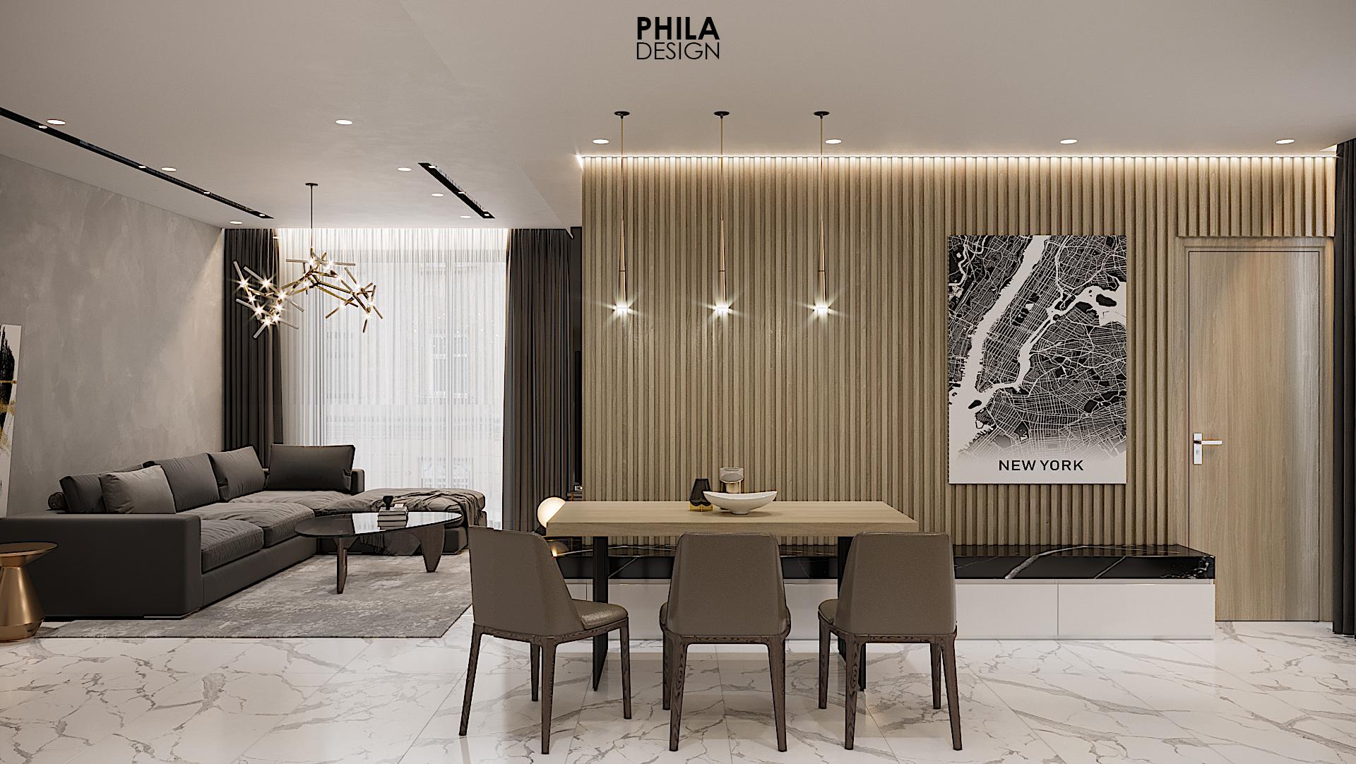 thiết kế nội thất chung cư tại Hồ Chí Minh Midtown 7 1566987159