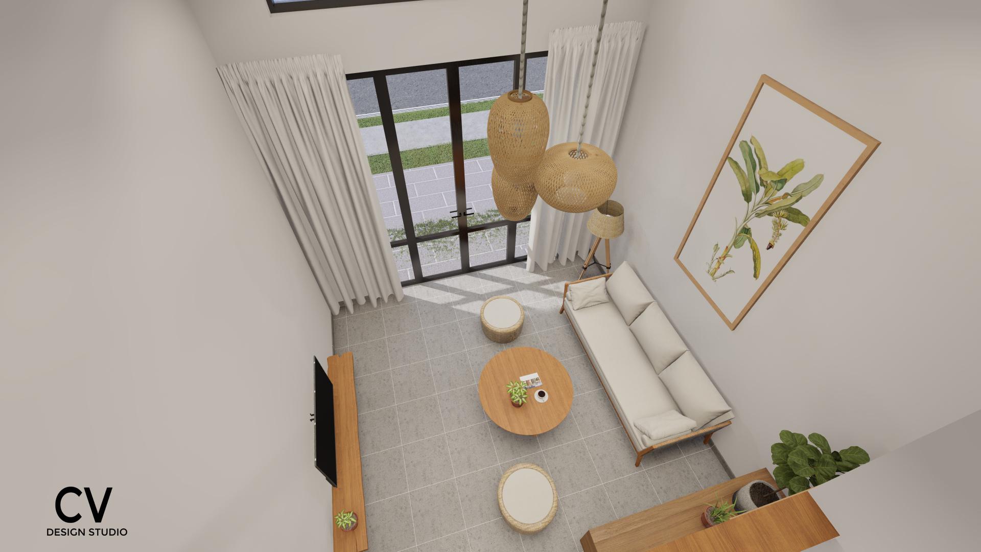 Thiết kế nội thất Nhà Mặt Phố tại An Giang H+ House 1600088020 2