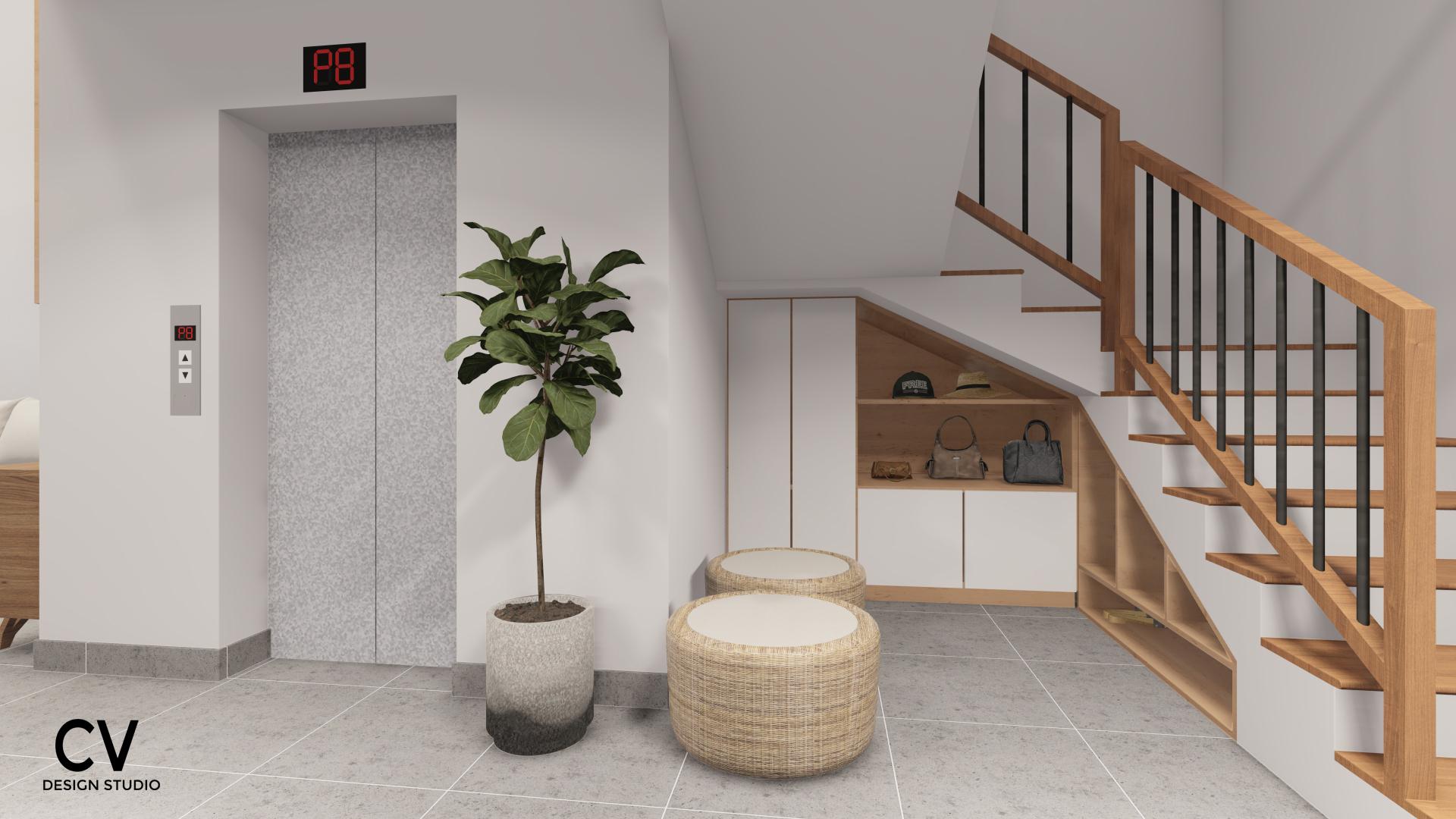Thiết kế nội thất Nhà Mặt Phố tại An Giang H+ House 1600088020 3