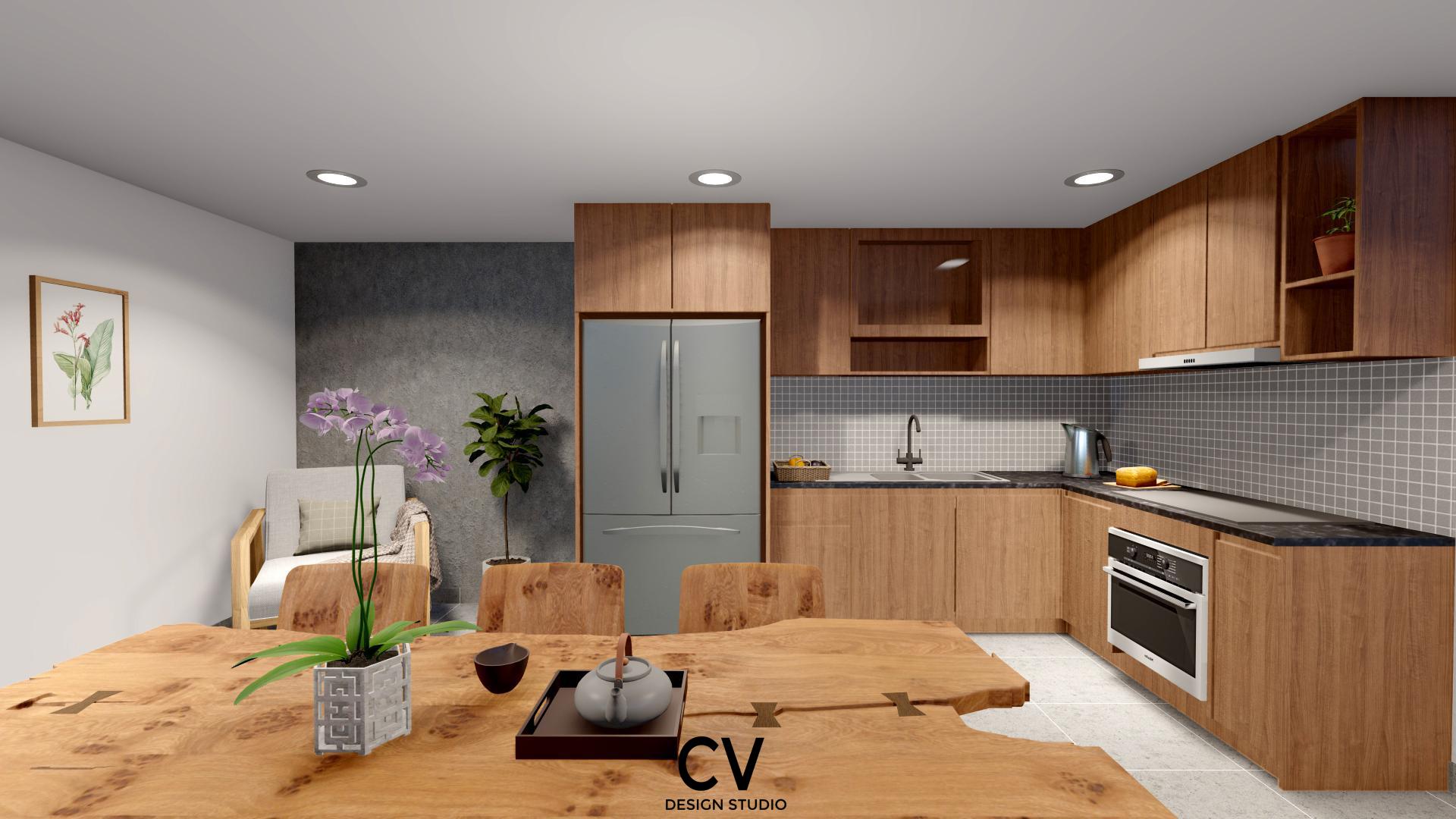 Thiết kế nội thất Nhà Mặt Phố tại An Giang H+ House 1600088020 4