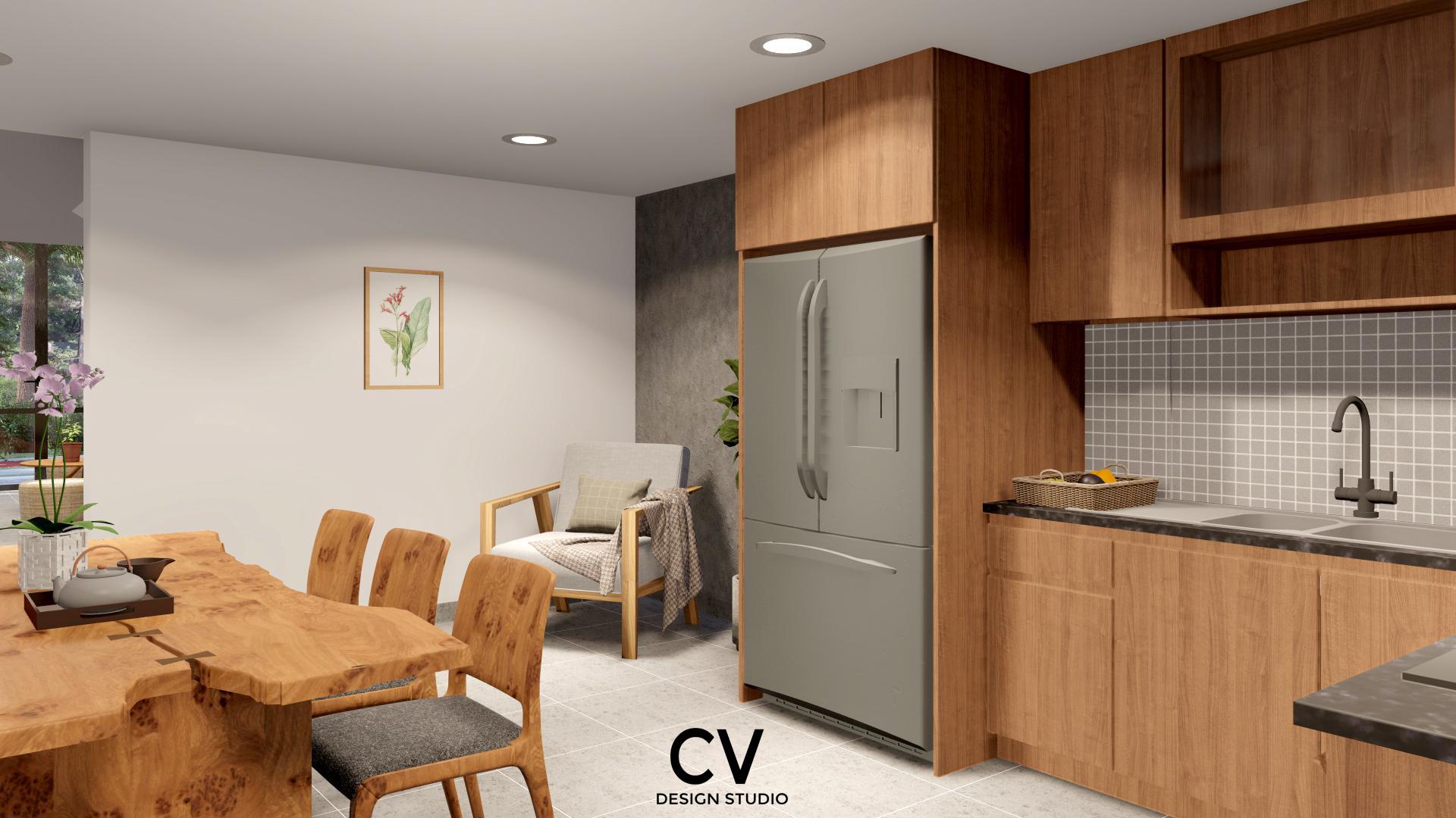 Thiết kế nội thất Nhà Mặt Phố tại An Giang H+ House 1600088020 5
