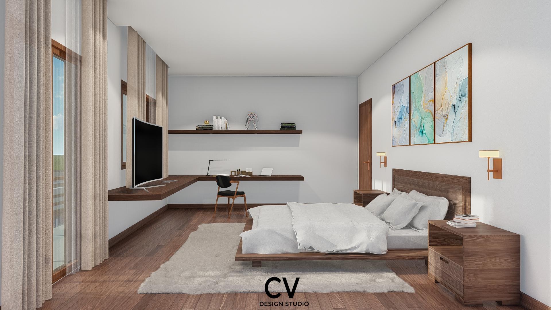 Thiết kế nội thất Nhà Mặt Phố tại An Giang H+ House 1600088021 11