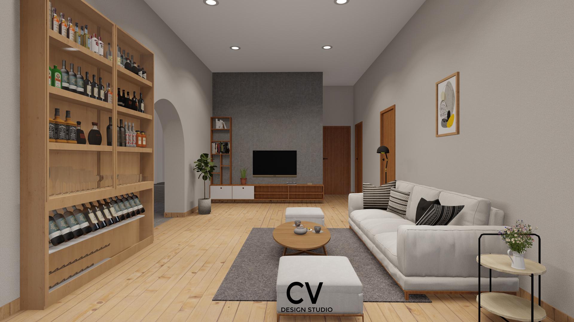 Thiết kế nội thất Nhà Mặt Phố tại An Giang H+ House 1600088021 7