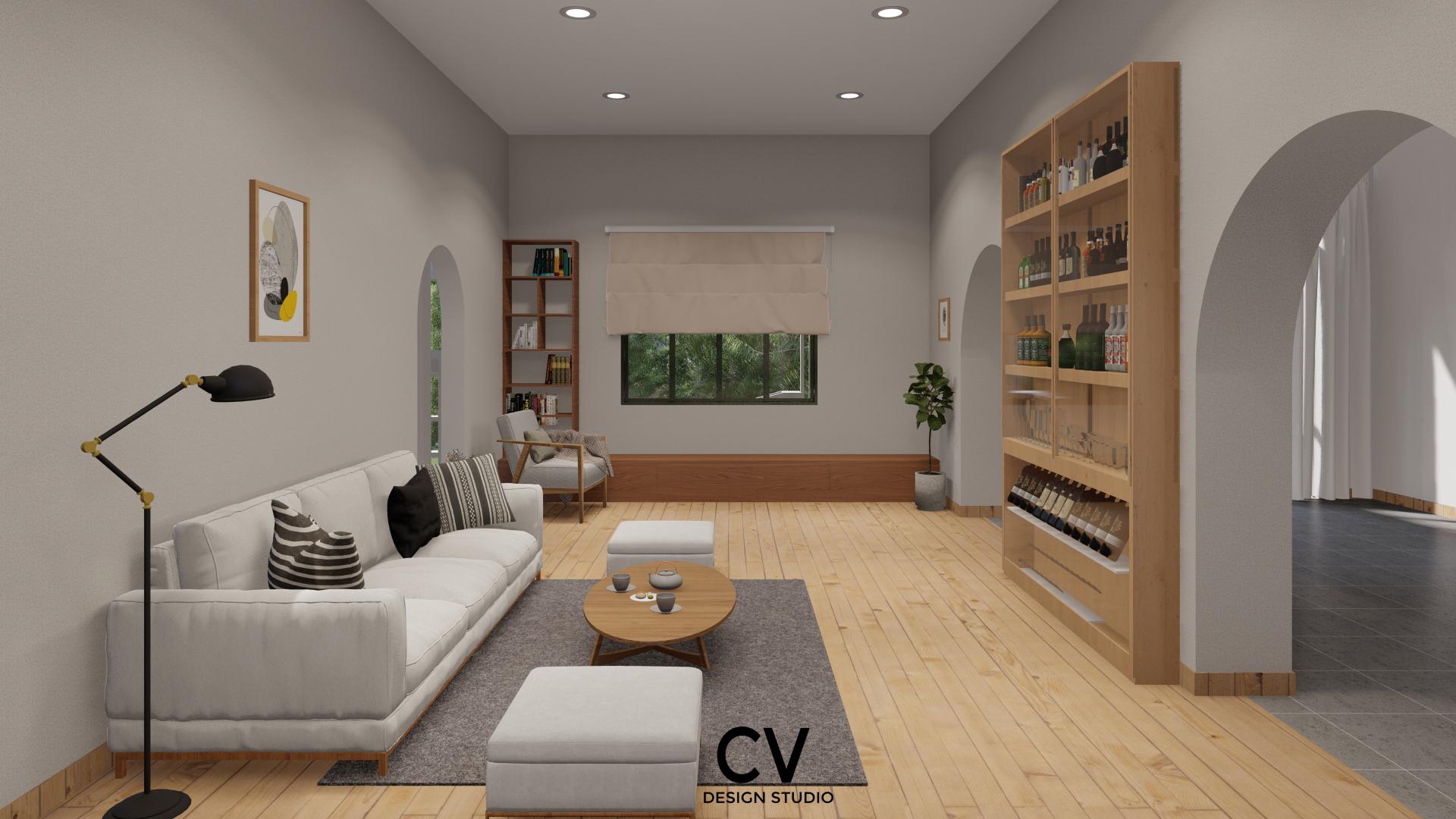 Thiết kế nội thất Nhà Mặt Phố tại An Giang H+ House 1600088021 8