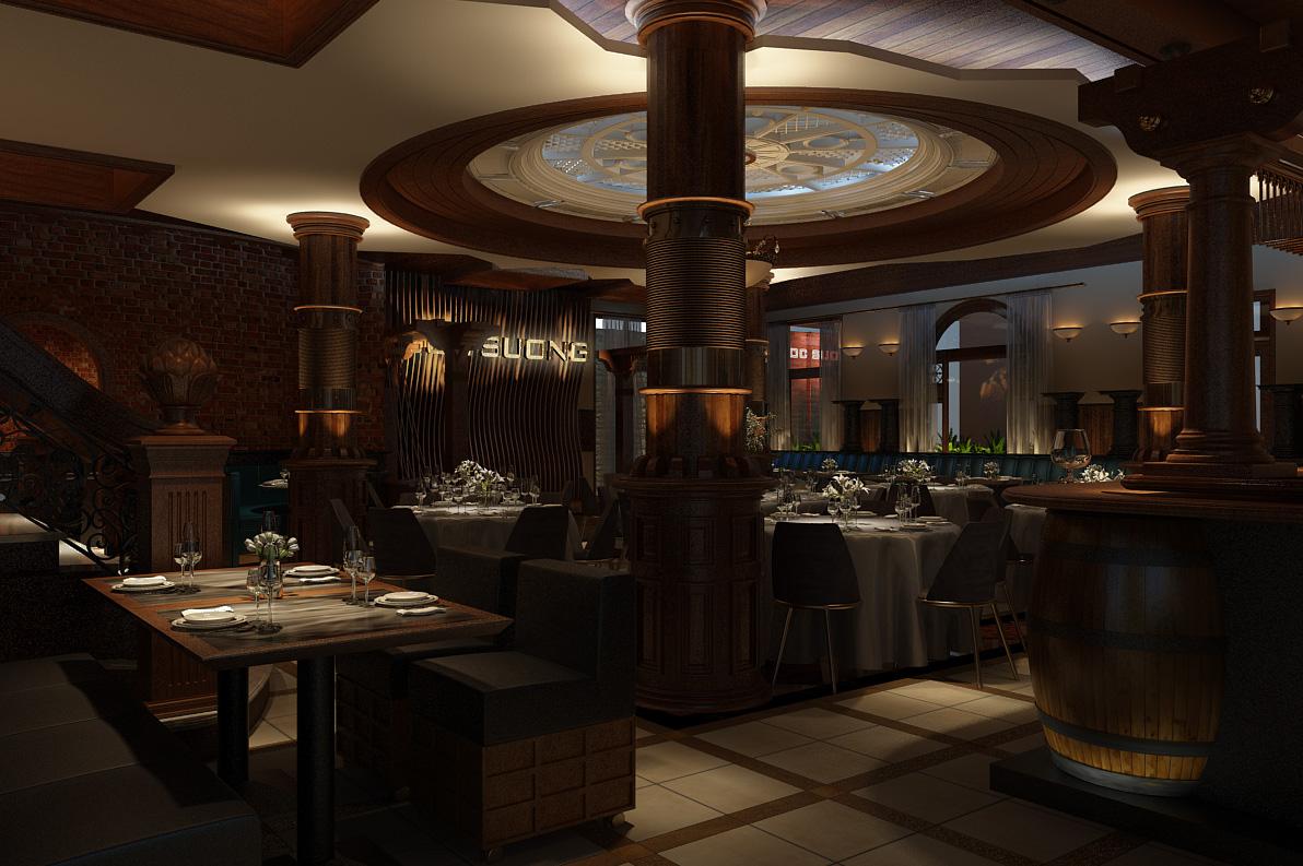 thiết kế nội thất Nhà Hàng tại Hồ Chí Minh Ngoc Suong Steak&Seafood 106 Suong Nguyen Anh, Sai Gon 0 1534746919