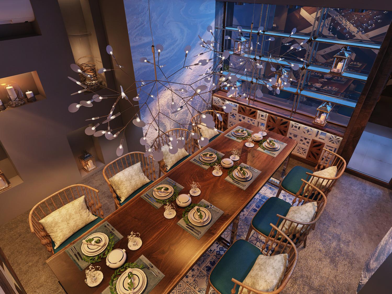 thiết kế nội thất Nhà Hàng tại Hồ Chí Minh Thiết Kế Nhà Hàng Ngọc Sương Bến Thuyền - Phú Nhuận 0 1534748488