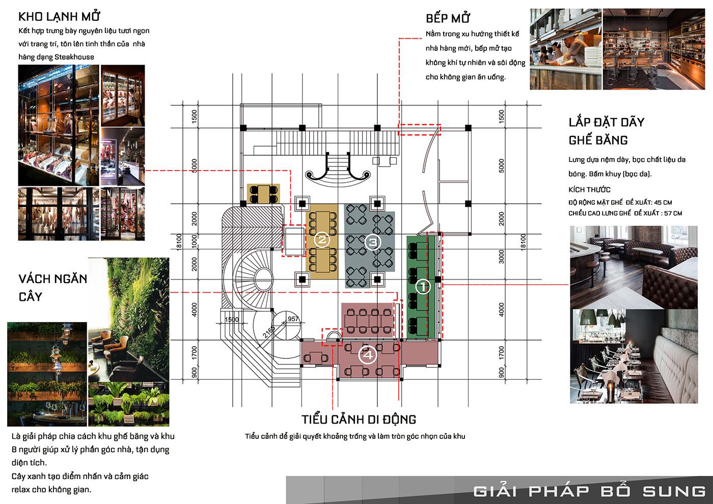 thiết kế nội thất Nhà Hàng tại Hồ Chí Minh Nội Thất Nhà Hàng Ngọc Sương Steak&Seafood - Q1 1 1534747107