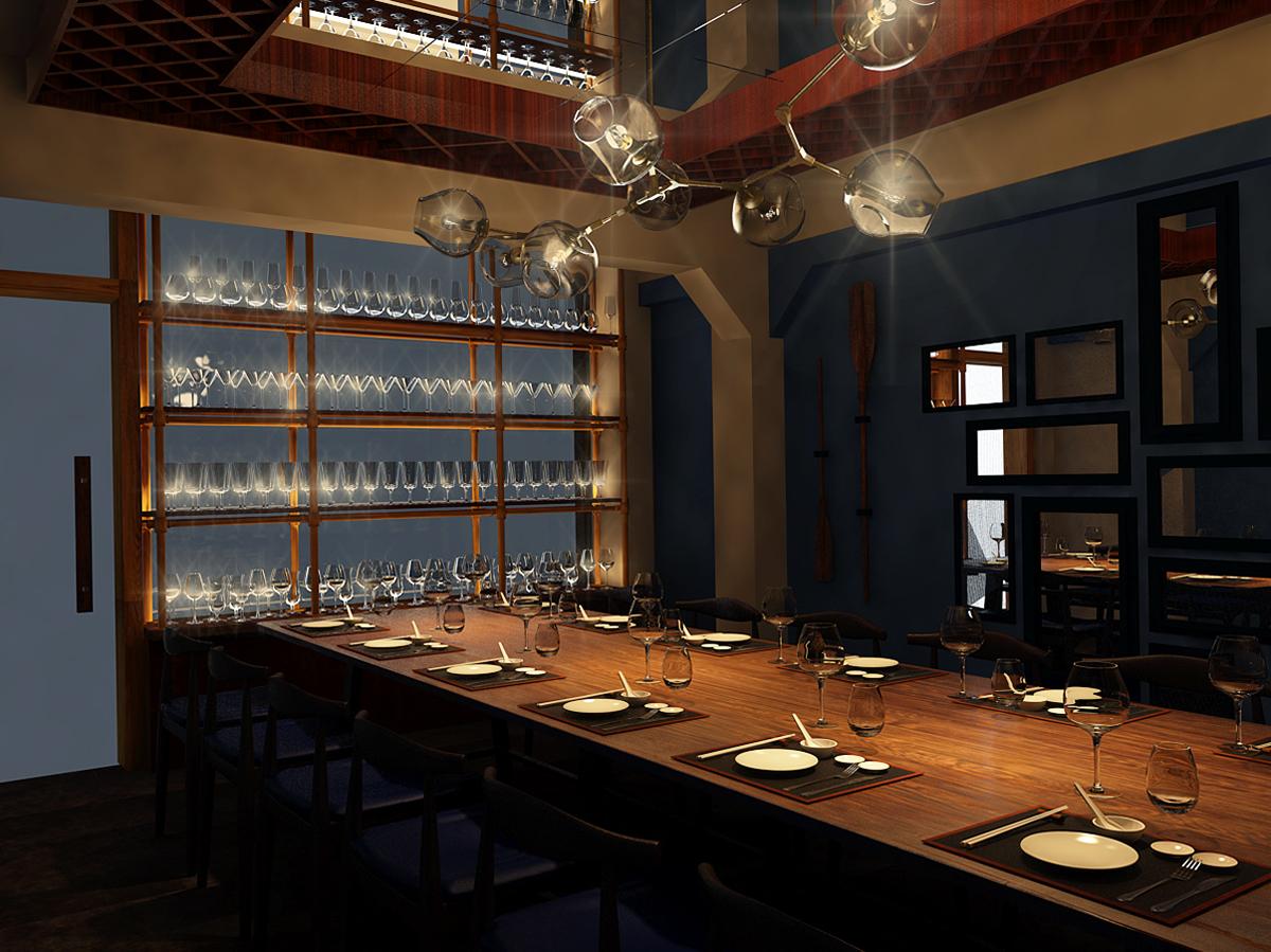 thiết kế nội thất Nhà Hàng tại Hồ Chí Minh Thiết Kế Nhà Hàng Ngọc Sương Bến Thuyền - Phú Nhuận 1 1534748446