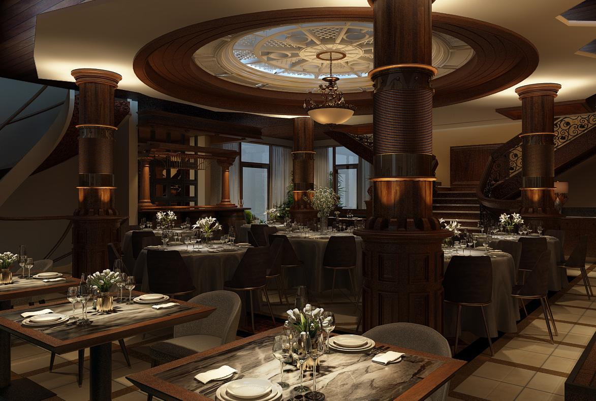 thiết kế nội thất Nhà Hàng tại Hồ Chí Minh Ngoc Suong Steak&Seafood 106 Suong Nguyen Anh, Sai Gon 12 1534746928