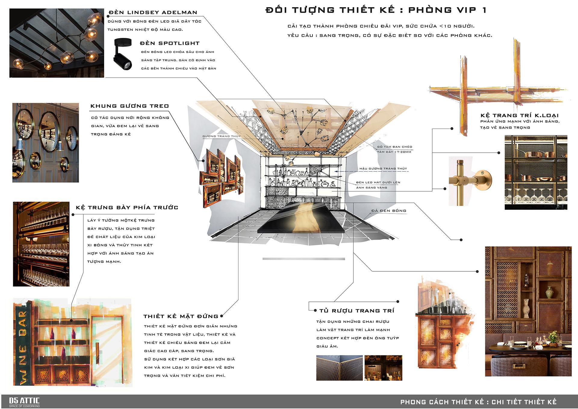 thiết kế nội thất Nhà Hàng tại Hồ Chí Minh Thiết Kế Nhà Hàng Ngọc Sương Bến Thuyền - Phú Nhuận 16 1534748431